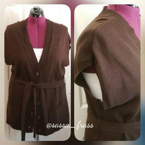 Plus Sweater Vest, Size 2X (18/20)  EUC